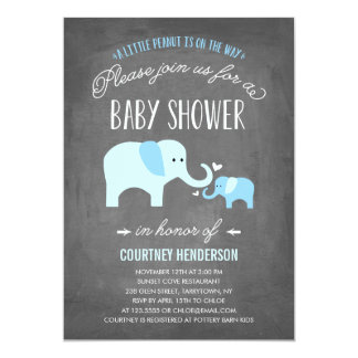 Little Peanut | Baby Shower Invitation