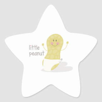 Little Peanut Star Sticker