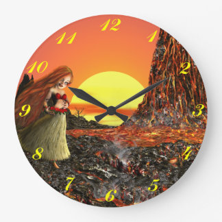 Little Pele Wall Clock