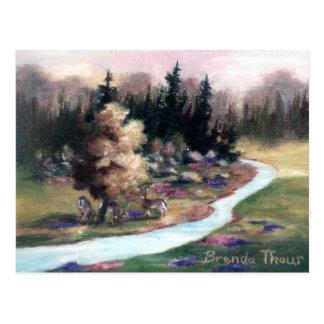 Little Piece of Heaven postcard