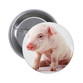 Little Pig 6 Cm Round Badge