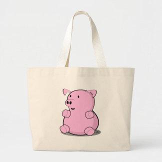 little-pig canvas bag
