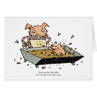 Little Pig Card