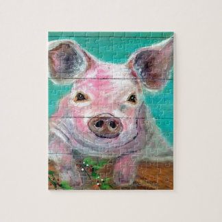 Little Pig Design Jigsaw Puzzle