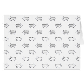 Little Pig Paperclips | Personal Stationary Card