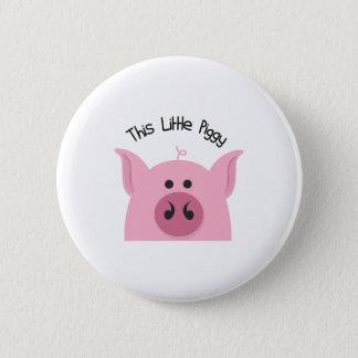 Little Piggy 6 Cm Round Badge