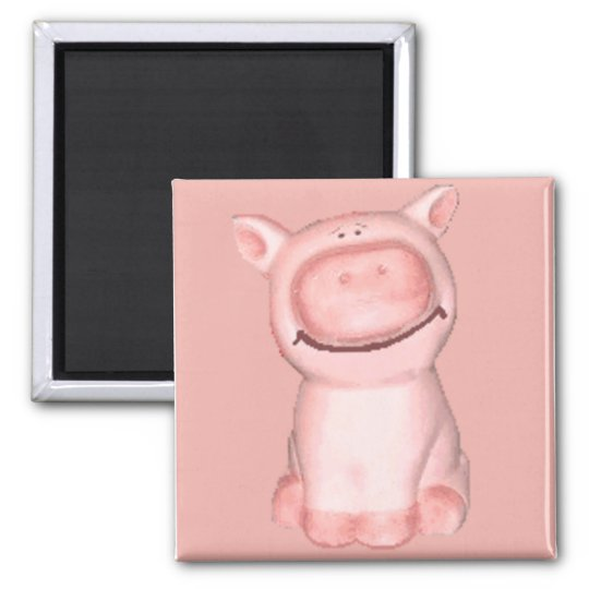 little piggy magnet
