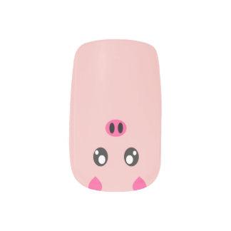Little Piggy Minx Nail Art