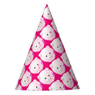 Little piggy party hat