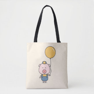 Little Piggy Tote Bag