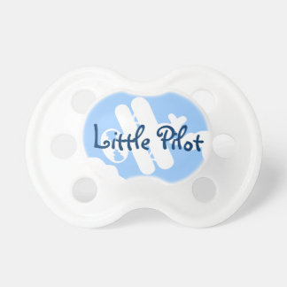 Little pilot baby pacifier   Airplane Soother