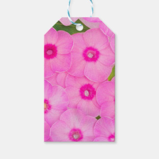 little pink flowers gift tags