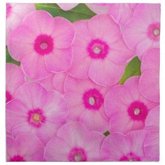 little pink flowers napkin