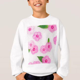 little pink flowers sweatshirt