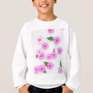 little pink flowers sweatshirt