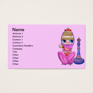 Little Pink Genie Business Card