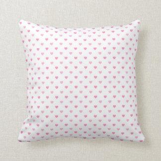 Little Pink Hearts Pillow