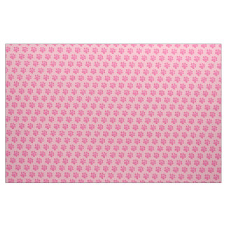 Little Pink Paws Fabric