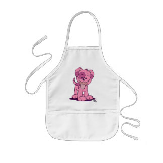 Little pink puppy Cooking Apron