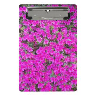 Little Pink Rhododendrons Floral Mini Clipboard