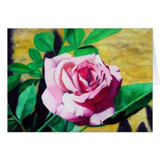Little Pink Rose Card