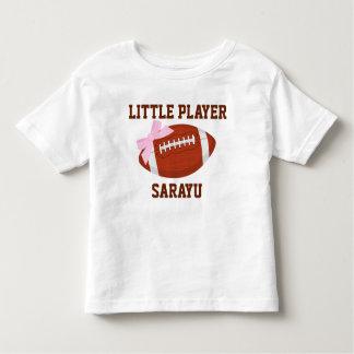 Little Player Custom Toddler Fine Jersey T-Shirt
