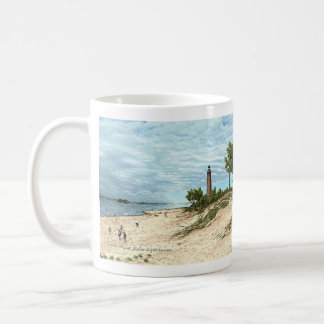 Little Point Sable Lighthouse Michigan Coffee Mug