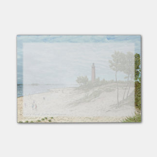 Little Point Sable Lighthouse Post it notes