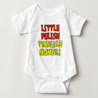 Little Polish Trouble Maker Baby Bodysuit