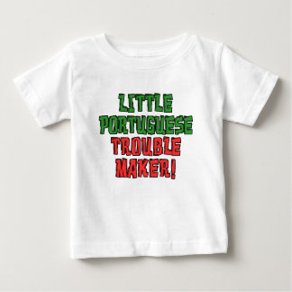 Little Portuguese Trouble Maker Baby T-Shirt
