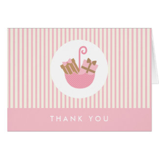 {little presents}  baby shower thank you card