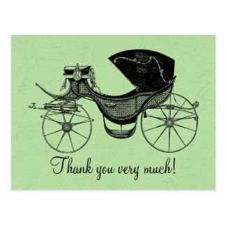 Little Prince Baby Shower Thank You Postcard