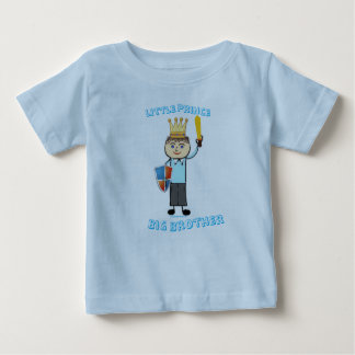 Little Prince - Big Brother Baby T-Shirt