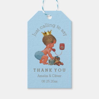 Little Prince Just Calling to Say Thank You Gift Tags