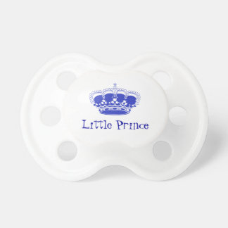 Little Prince Royal Baby Crown Dummy
