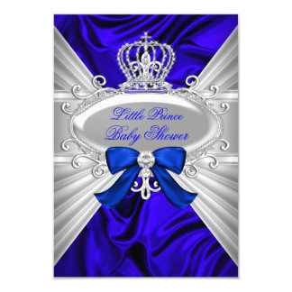 Royal Prince Boy Baby Shower Invitations Announcements Zazzle