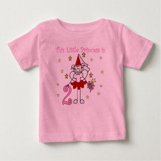 Little Princess 2nd Birthday Baby T-Shirt