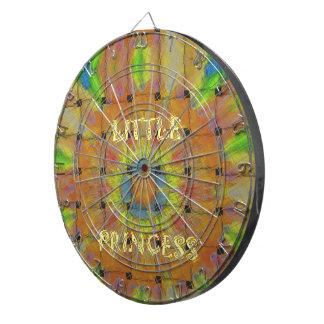 Little Princess Beautiful  colors Design Dartboard