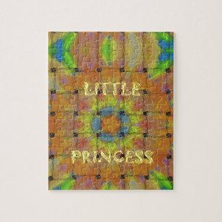 Little Princess Beautiful  colors Design Jigsaw Puzzle