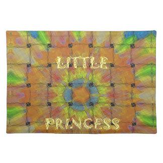 Little Princess Beautiful  colors Design Placemat