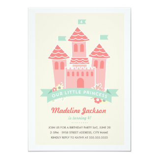 Shop Zazzle's selection of princess birthday invitations for your party!