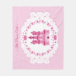 Little Princess Castle Fleece Blanket