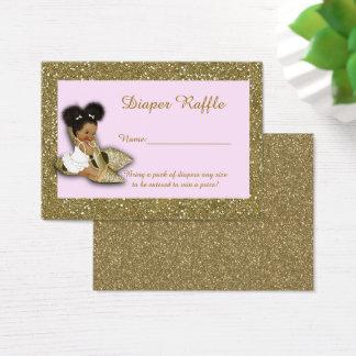 Little Princess Diaper Raffle Tickets, Etnic 2 Business Card