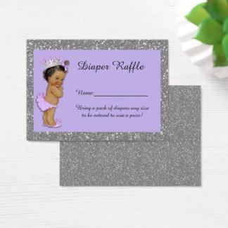 Little Princess Diaper Raffle Tickets, Etnic 3 Business Card