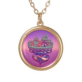 Little Princess Fairytale Castle Necklace