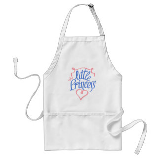 little princess heart design standard apron