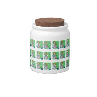 little princess candy jar