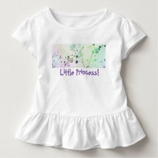 Little Princess Toddle Tee | Ruffled
