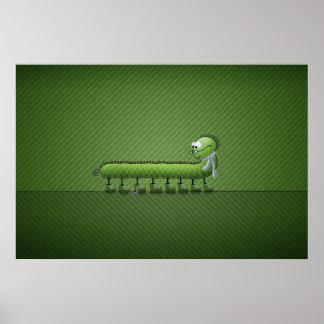 Little Problem (Green) Poster