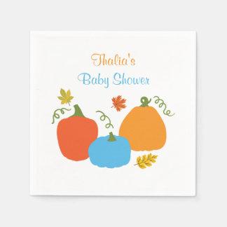 Little Pumpkin Baby Shower Napkin Disposable Serviette